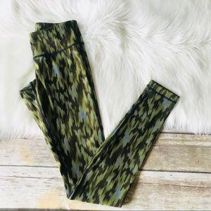 Lululemon Leggings Tights Sz 2 Green